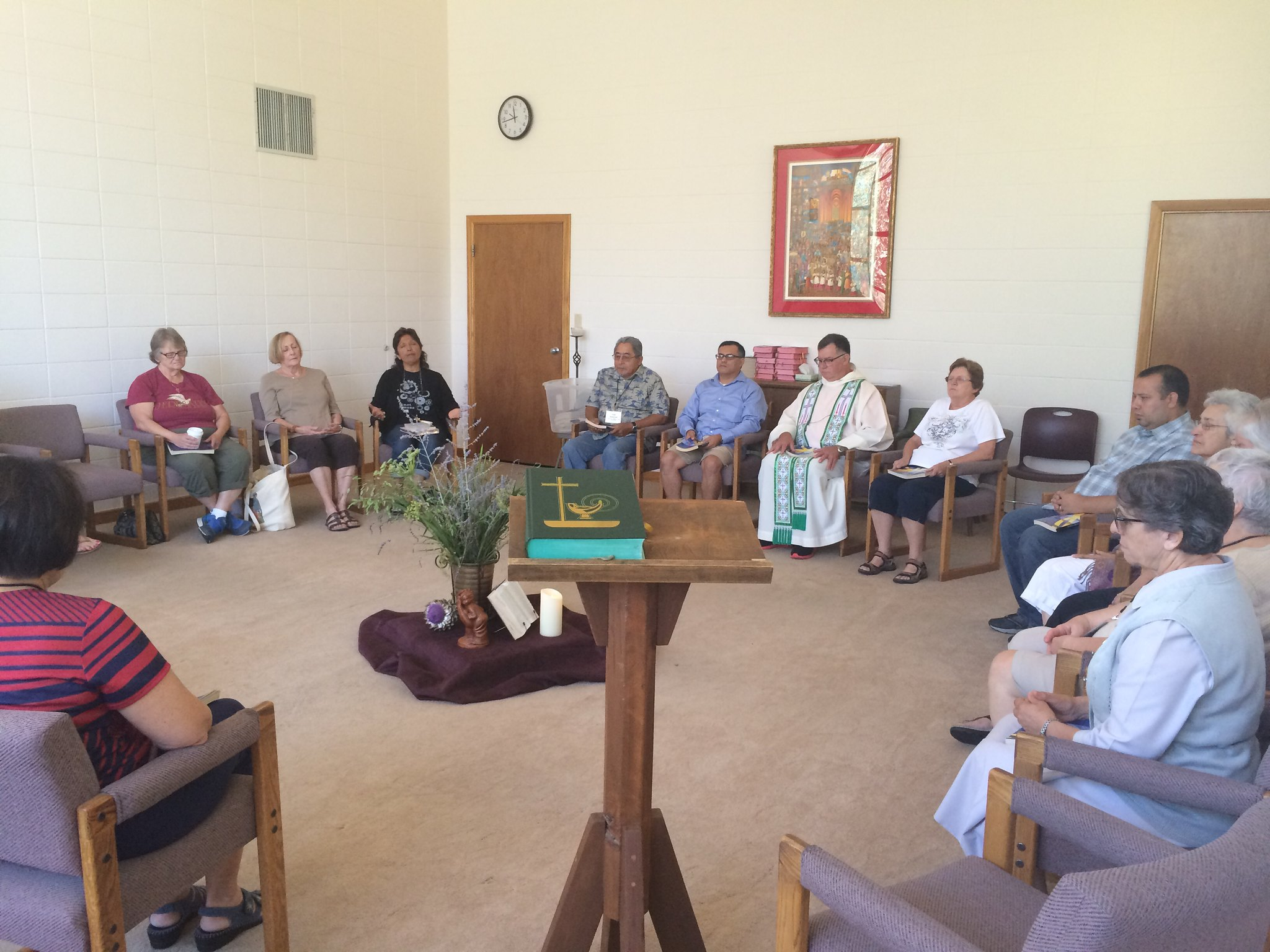 'Mystery, Tension, Polarities' A Six-Day Silent Directed Retreat (June 14-20, 2015) St. Anthony Retreat Center, Three Rivers, CA