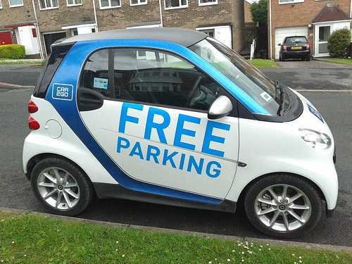 Car2Go - Hazelwell Fordrough, Stirchley - Free Parking