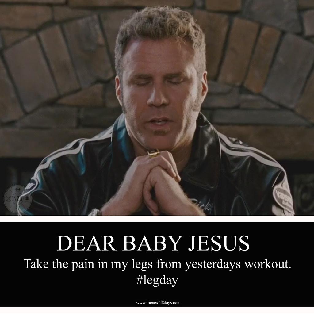 Will Ferrell, Baby Jesus, Leg Day | Will Ferrell, Baby ...
