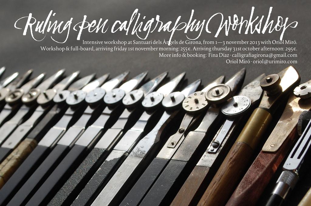 OMG - Ruling Pen Calligraphy WorkshopMGRuling Pen Calligra… | Flickr
