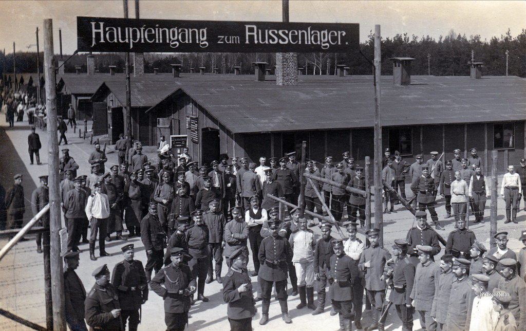 Haupteingang Zum Russenlager Main Entrance To The Russian