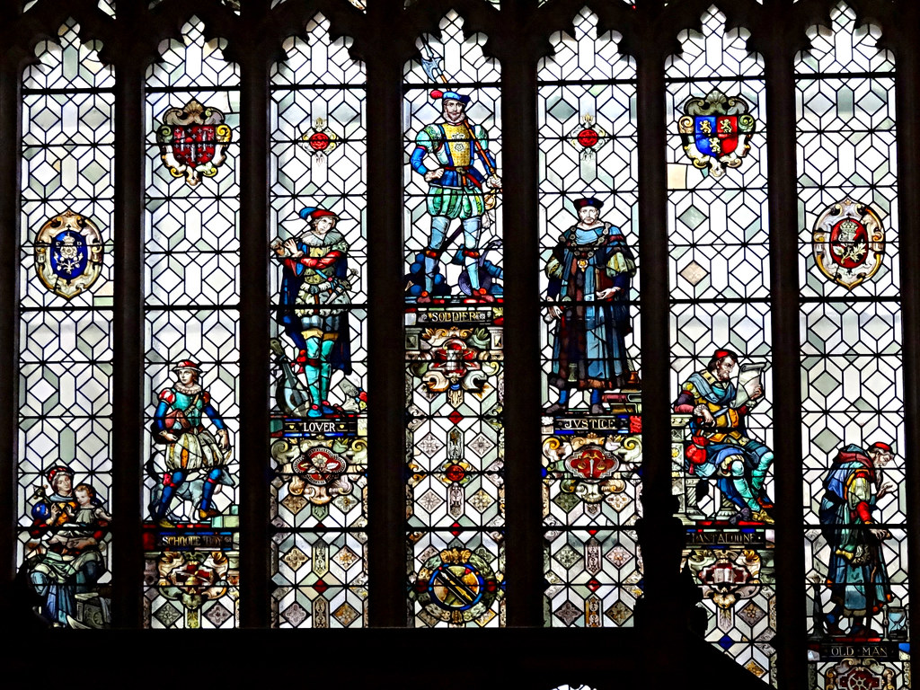 Seven Ages Seven Ages of Man Window