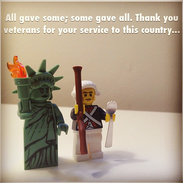 All Gave Some; Some Gave All. Thank You Veterans For Your