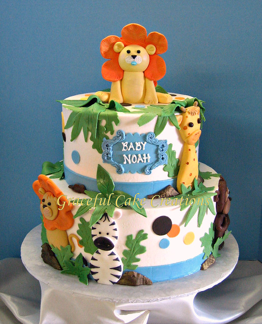 Travel Cake Decorations
