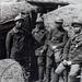 Front de la Marne. Soldats annamites en tranchées 1914-18. Mặt trận sông Marne, binh lính An Nam trong các chiến hào.