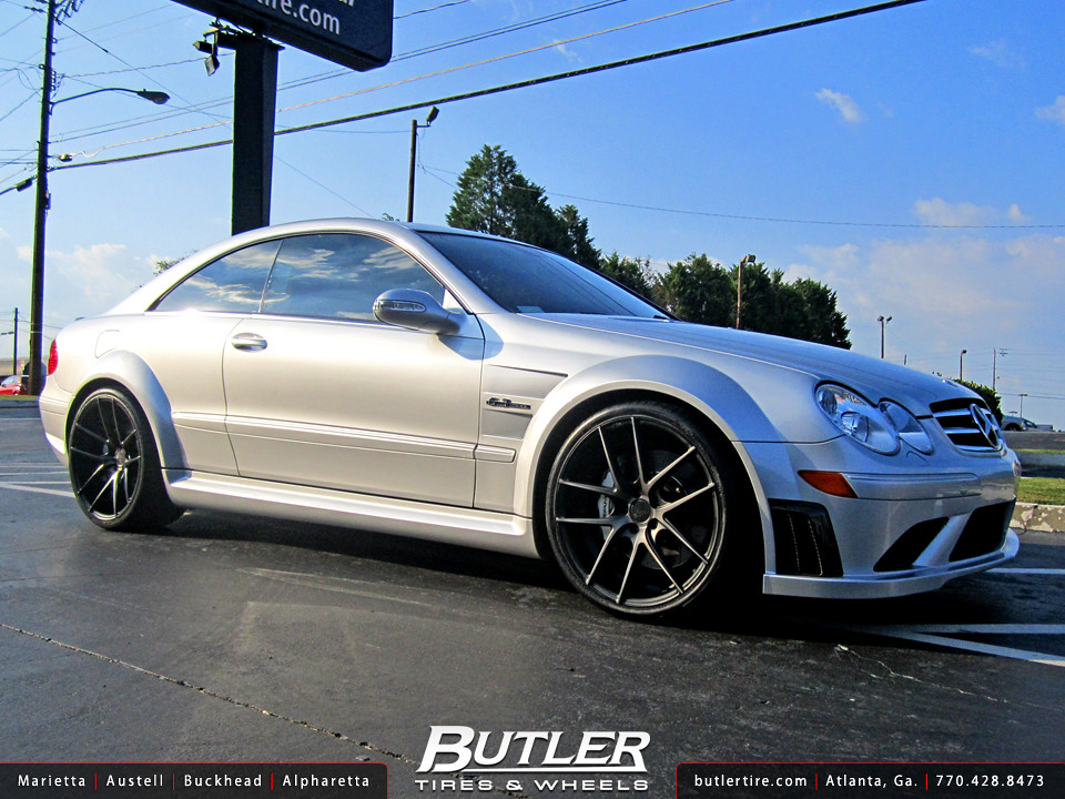Mercedes Benz CLK63 Black Series 20in Niche Targa Wheels | Flickr