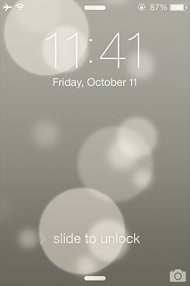 iOS7 Lock Screen | by jestermx6