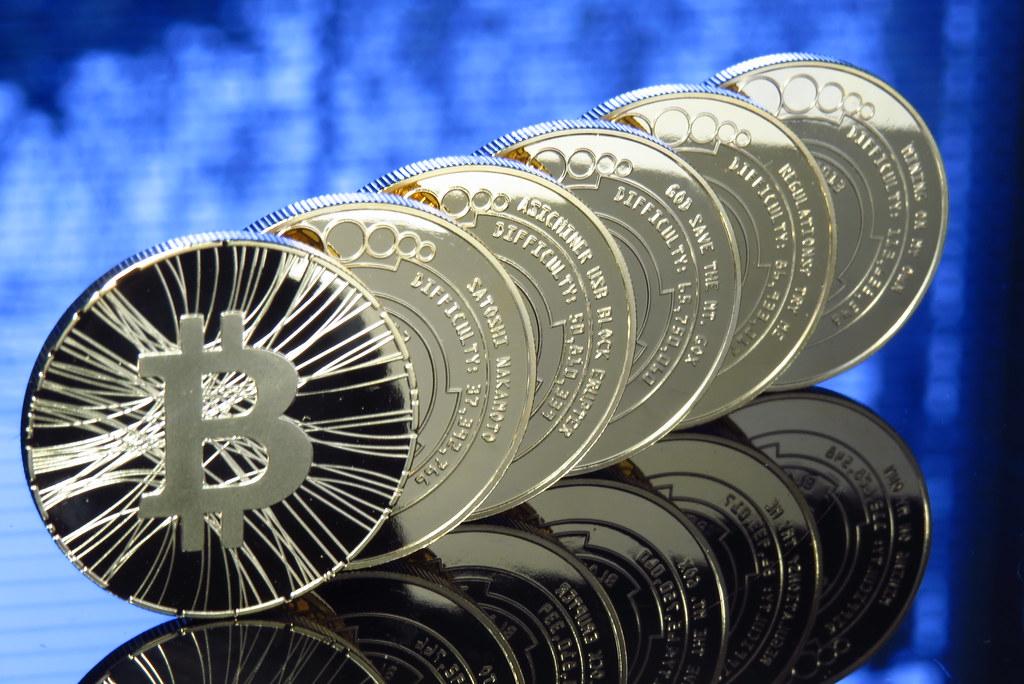 Bitcoin Bitcoin Coin Physical Bitcoin Bitcoin Photo