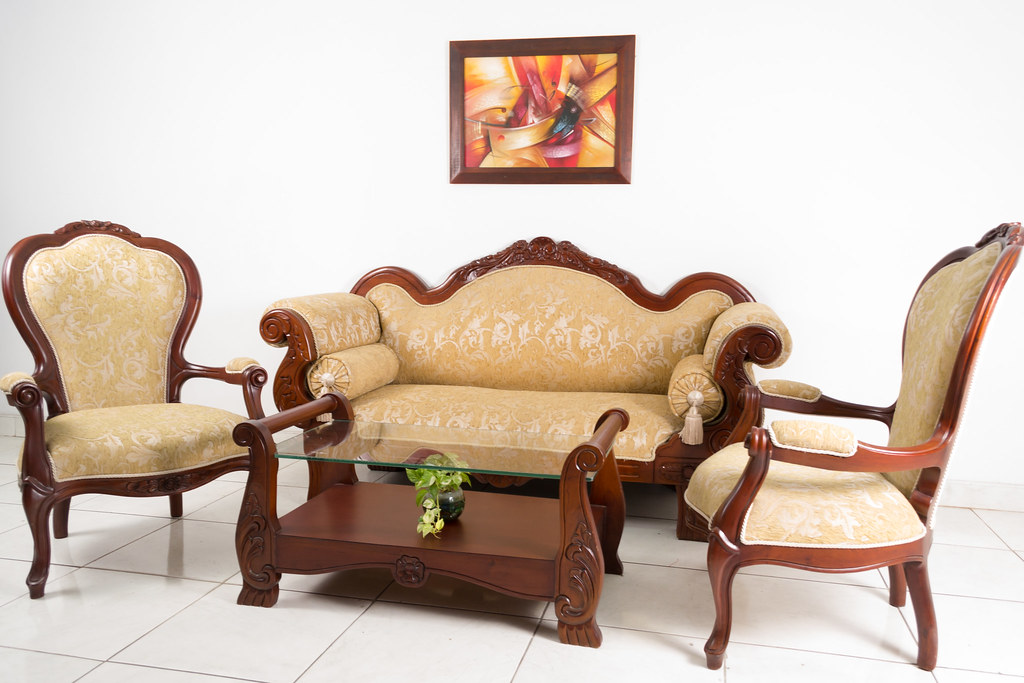 Juego sala isabelina cheil n centro muebles cali es el for Muebles de sala rosen