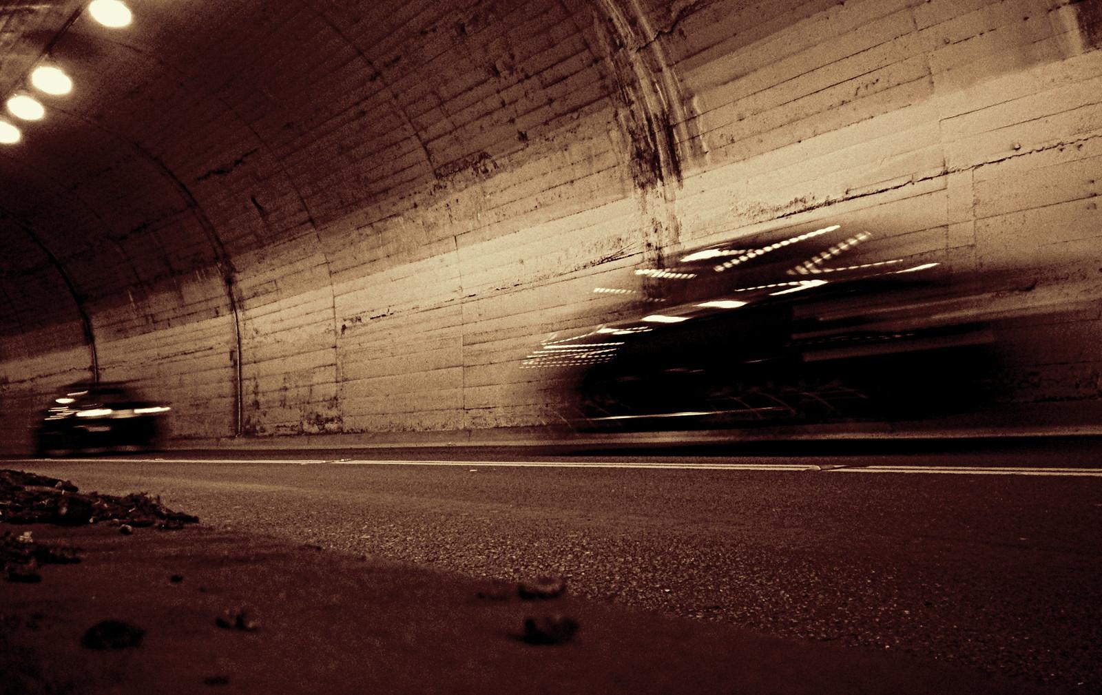 Tunnel traffic   by TJ Gehling