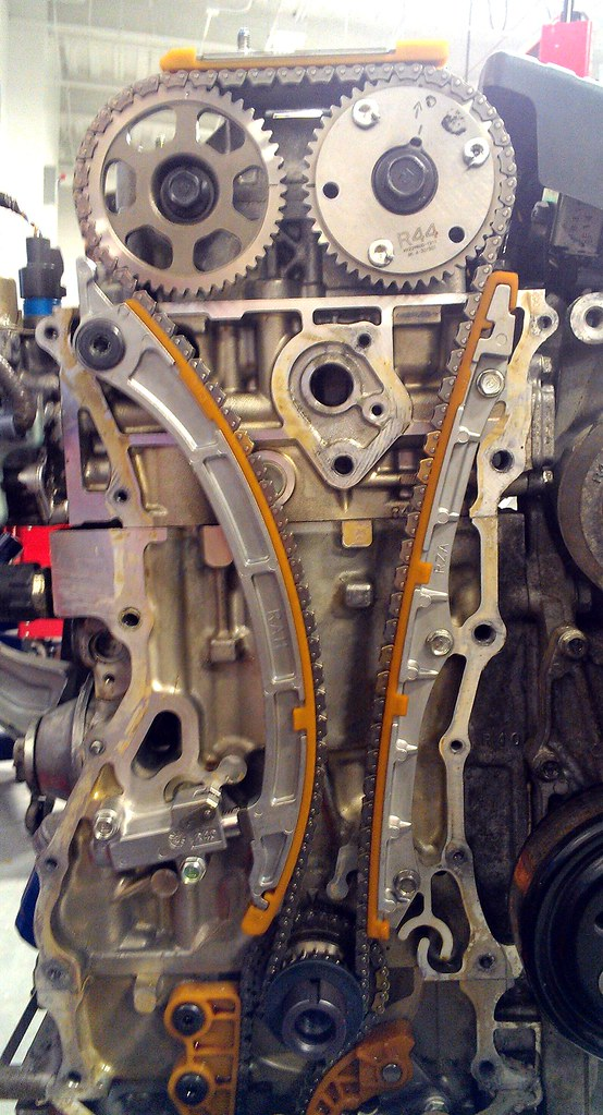 2005 Honda Crv >> K24 timing chain & tensioner replacement. | #honda #kseries … | Flickr