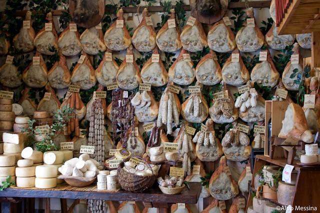 Wall of Prosciutto