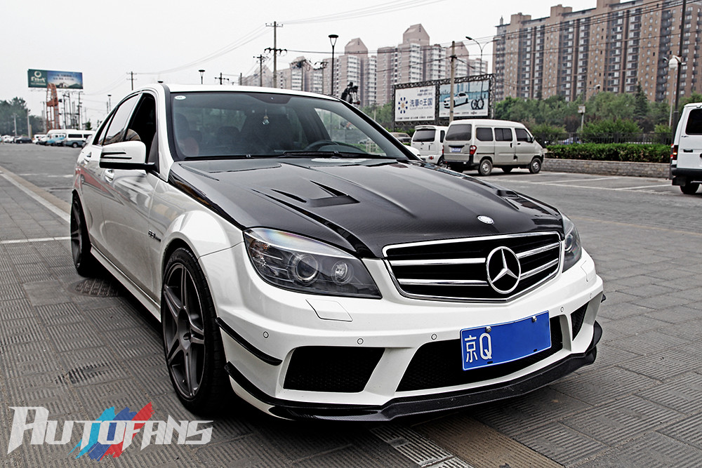 Cnautofans W204 C63 Amg Black Series Body Kits W204 C63