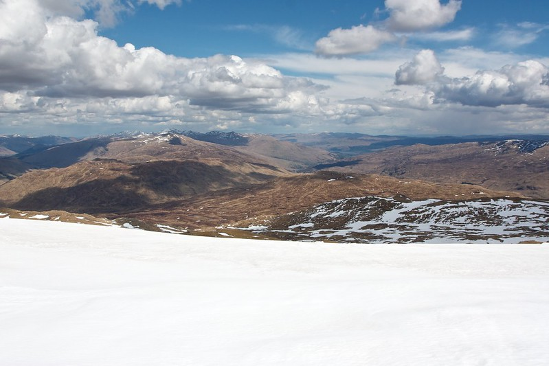 Lawers and Loch Tay from Beinn Heasgarnich
