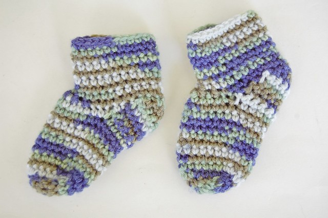 Free Baby Booties Socks Crochet Pattern Flickr - Photo ...