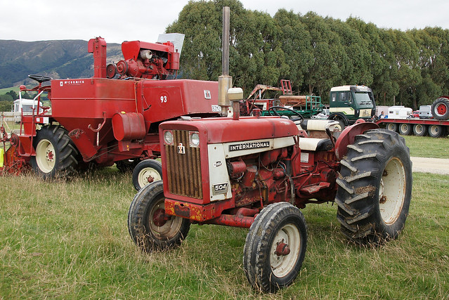 International 504 Tractor : International tractor flickr photo sharing