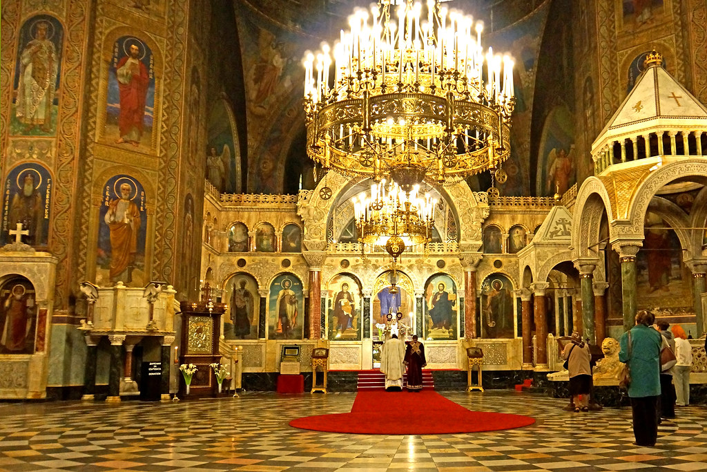 Bulgaria 02985 St Alexander Nevsky Cathedral Interior
