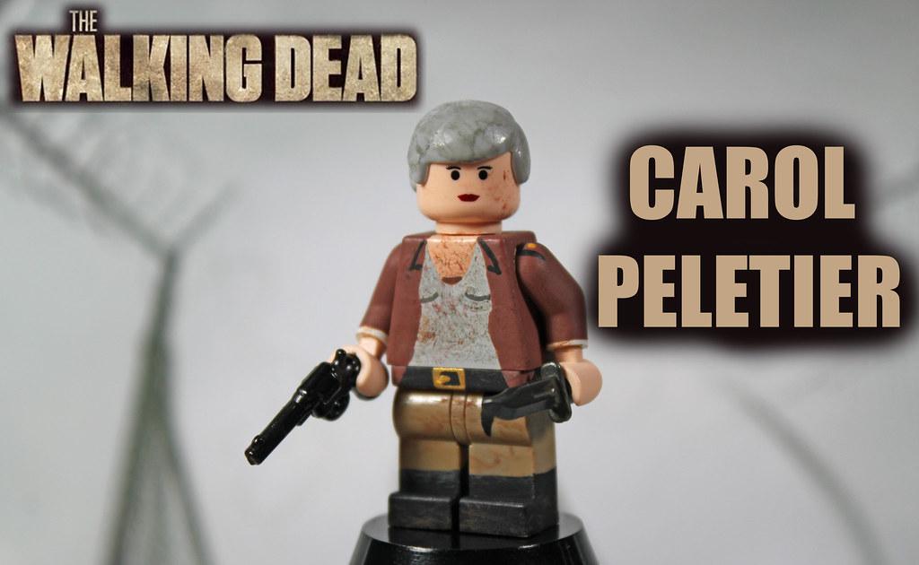 custom lego the walking dead season 4 carol peletier. Black Bedroom Furniture Sets. Home Design Ideas