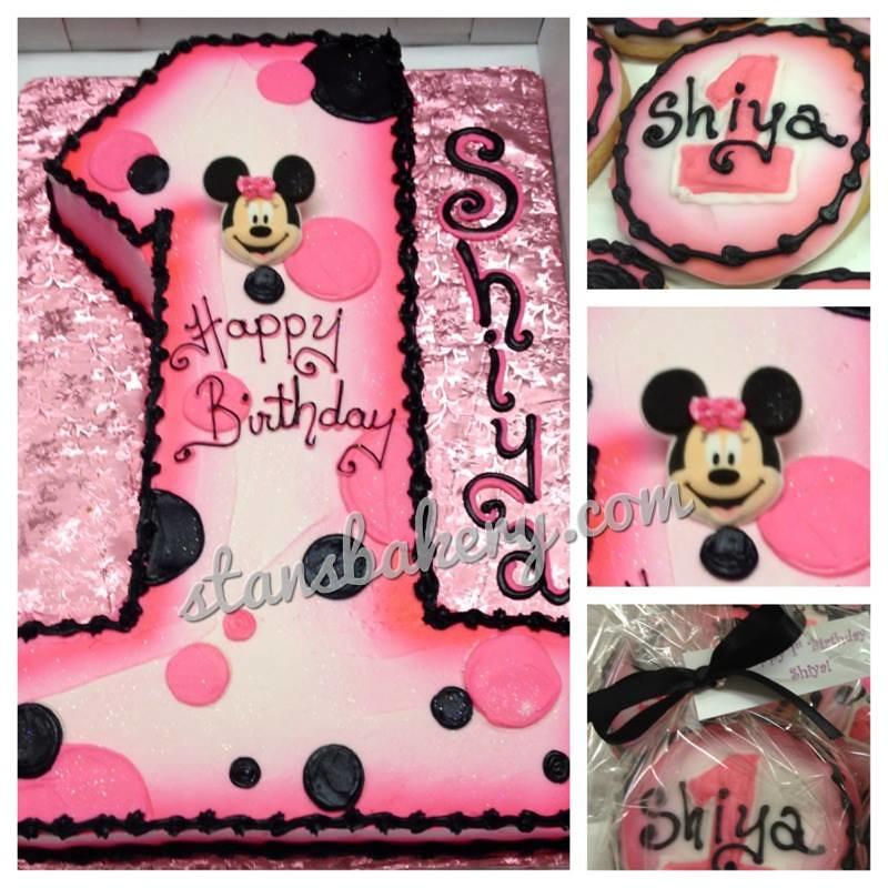 Minnie Mouse First Birthday Smash Cake Minnie Mouse First Birthday Cake Collection