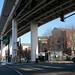 In Circle Interchange project, basically something like this is gonna go over Halsted Street