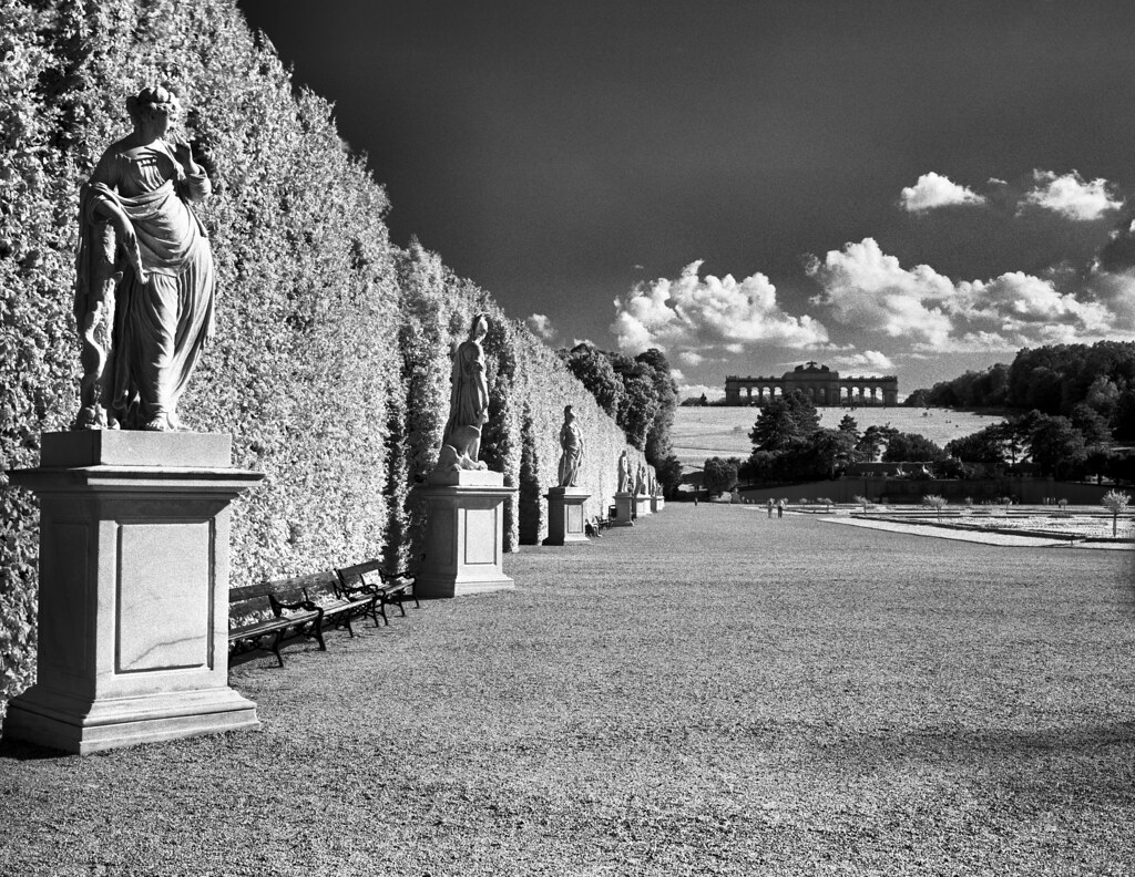 Great parterre gardens of sch nbrunn vienna rollei for Parterre 3d