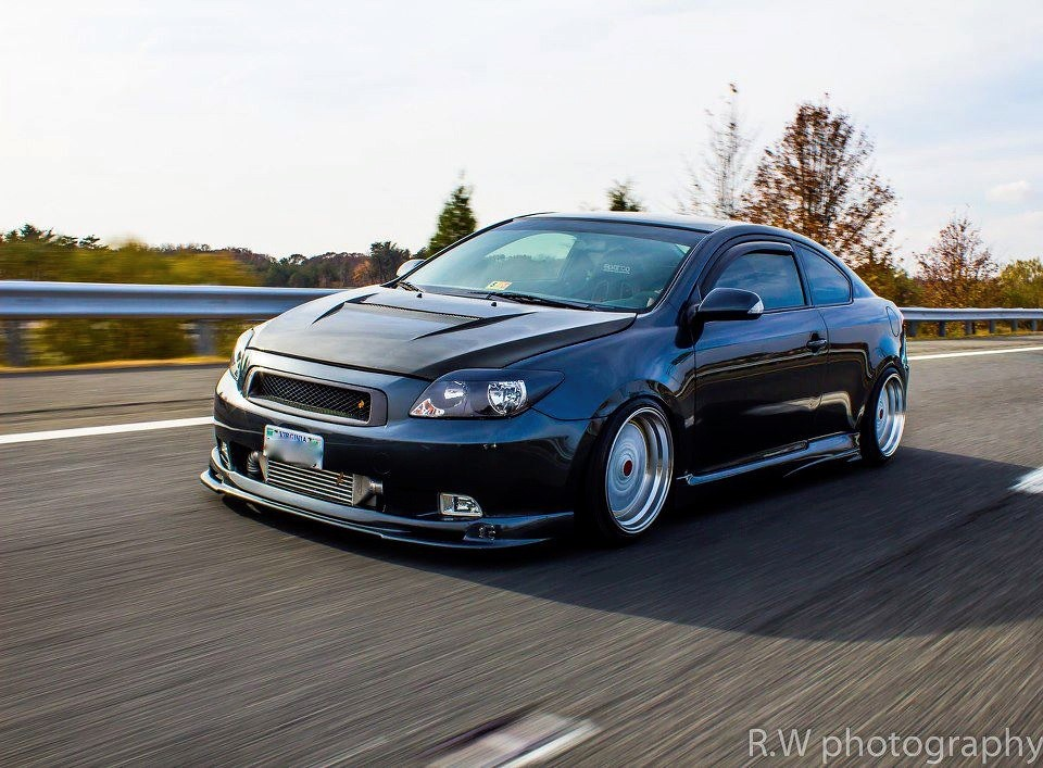 2006 Scion tC slammed and rolling | modified | Mgl Daris ...