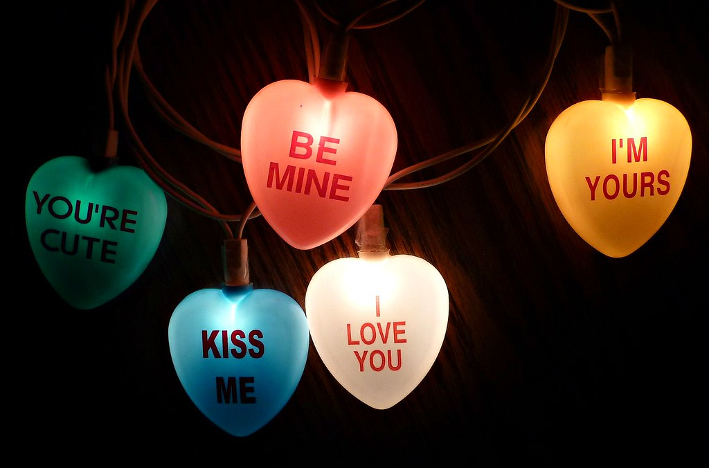 Conversation Hearts Valentine s Day Lights MissConduct* Flickr