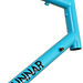 Gunnar Sport in Turquoise with Black Bullseye Decals - Head Tube
