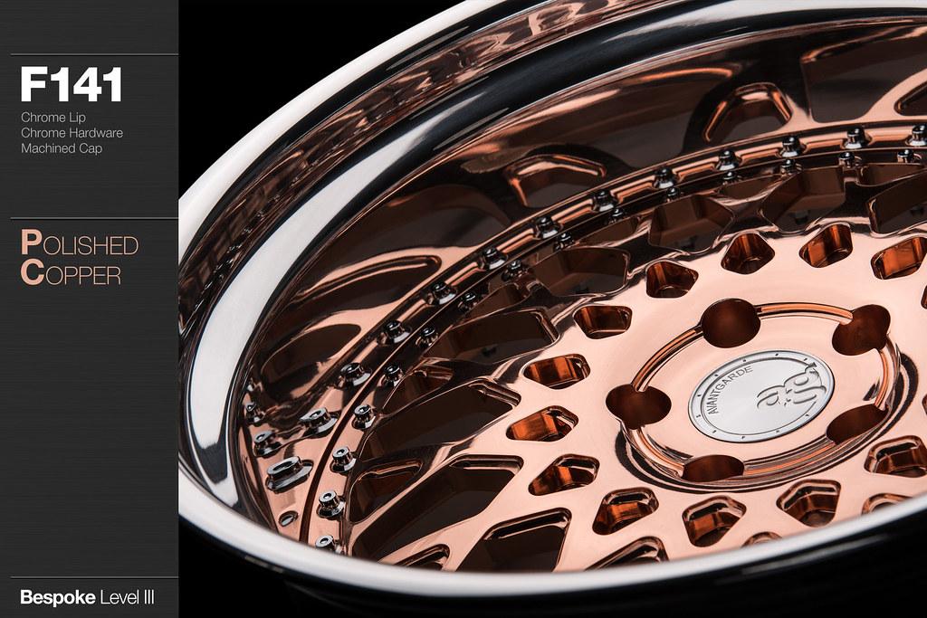 F141 Polished Copper Avant Garde Wheels Flickr