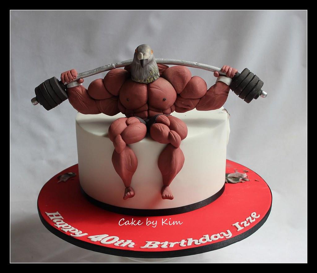 Body Builder Cake Images