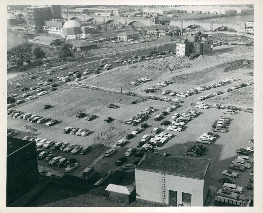 From Roof Of Massachusetts General Hospital Title From