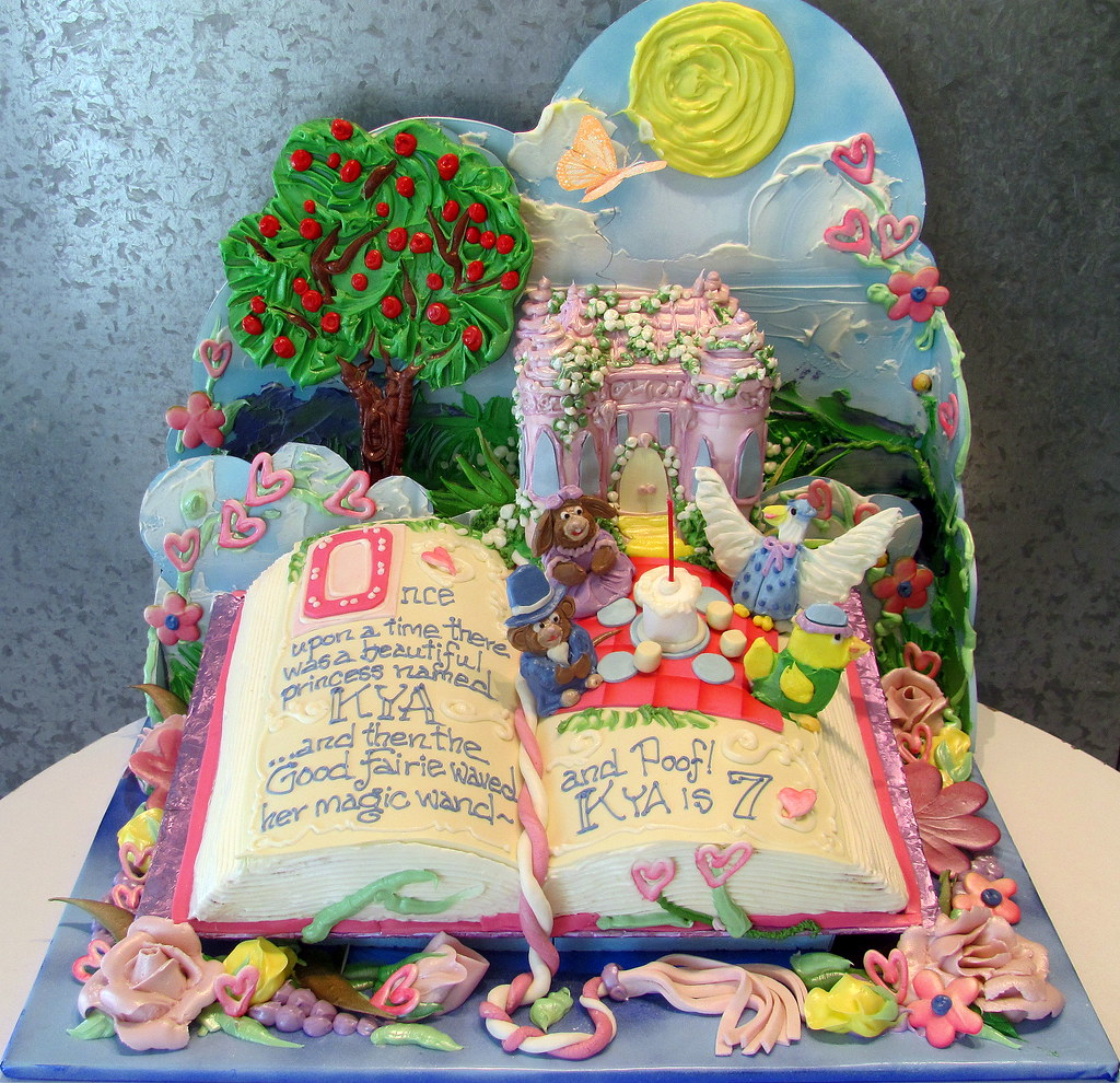 Peter Pan Book Birthday Cake