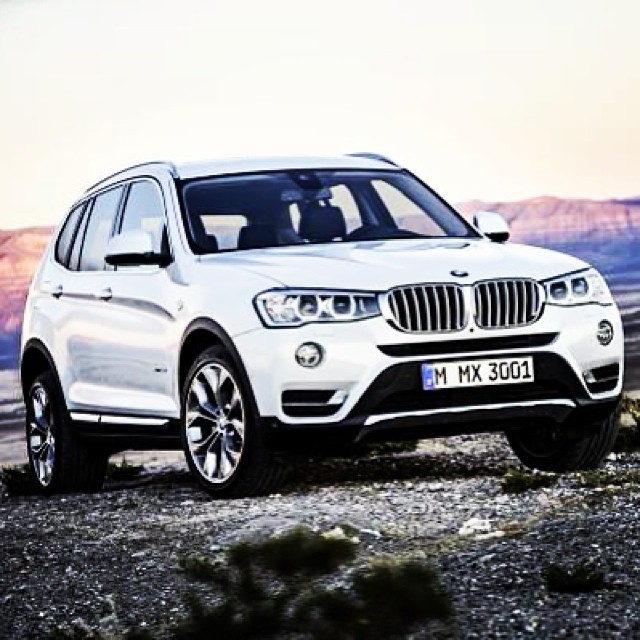 """This is it: The all new 2015 BMW X3 """"xLine"""" Edition (Part … 