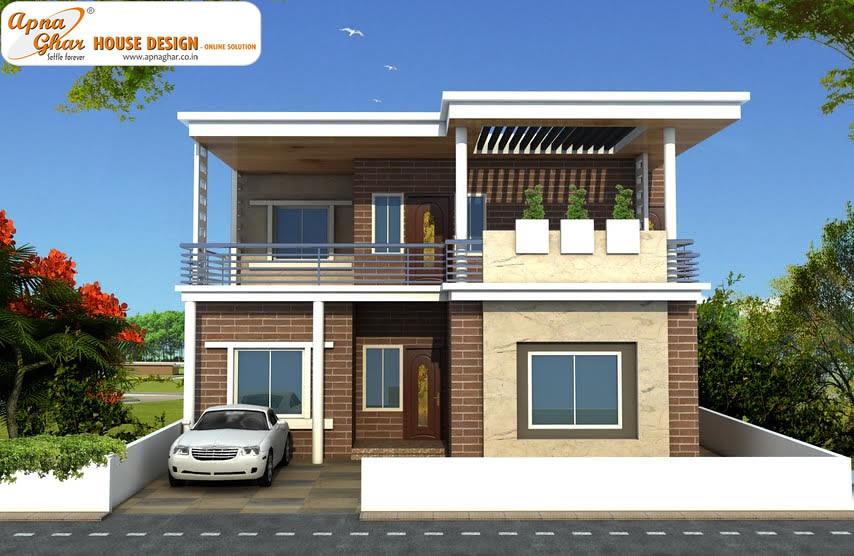 Apnaghar House Design: 6 Bedrooms Duplex House Design In