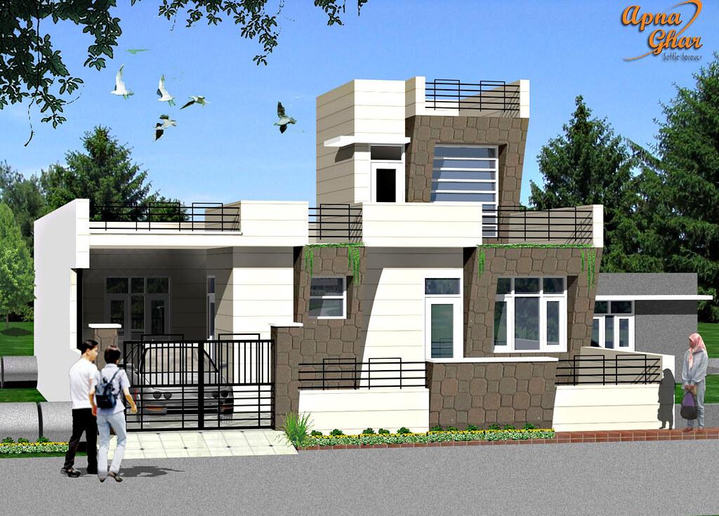 Simplex House Design 3 Bedrooms Simplex House Design In