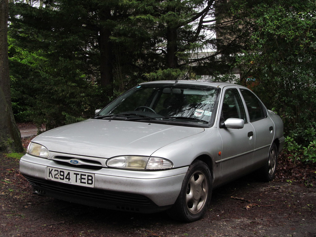 1993 ford mondeo si saloon k reg built on 16 02 1993 re flickr. Black Bedroom Furniture Sets. Home Design Ideas