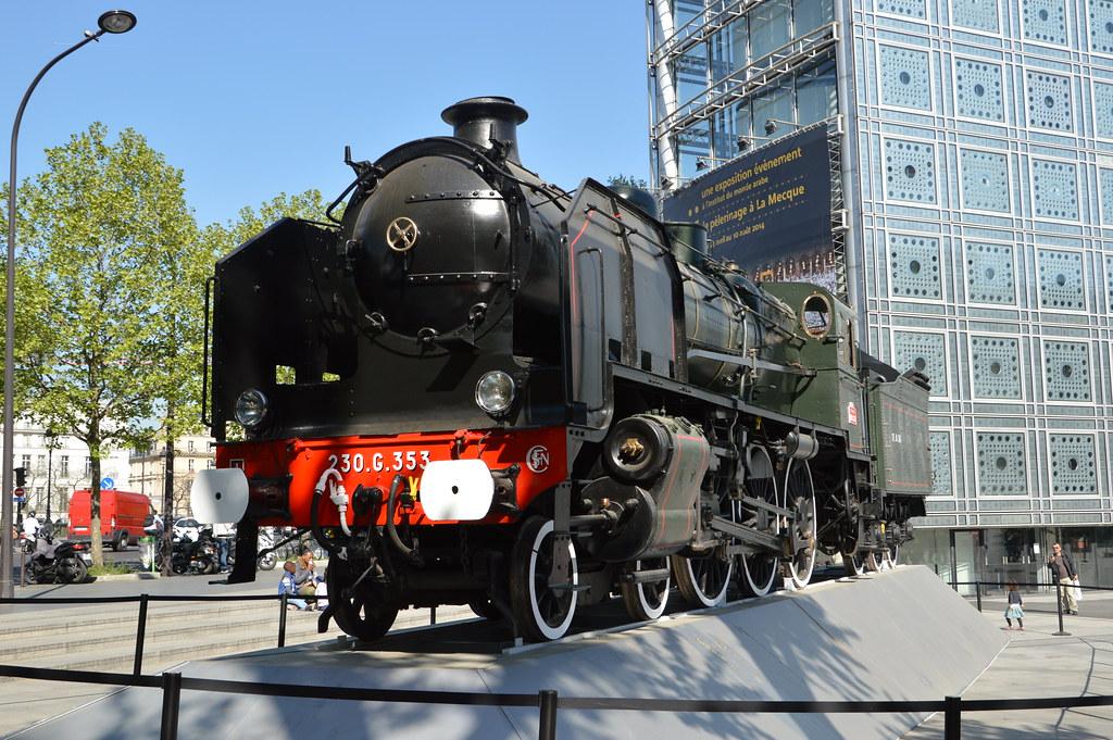 SNCF 230 G 353 | La locomotive à vapeur SNCF 230 G 353 (à l'… | Flickr