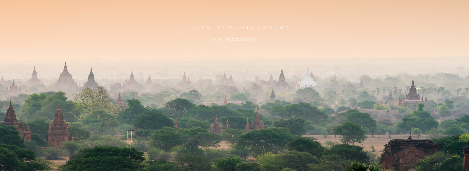Misty Bagan at dawn