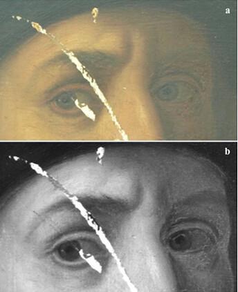 紅外線分析眼神