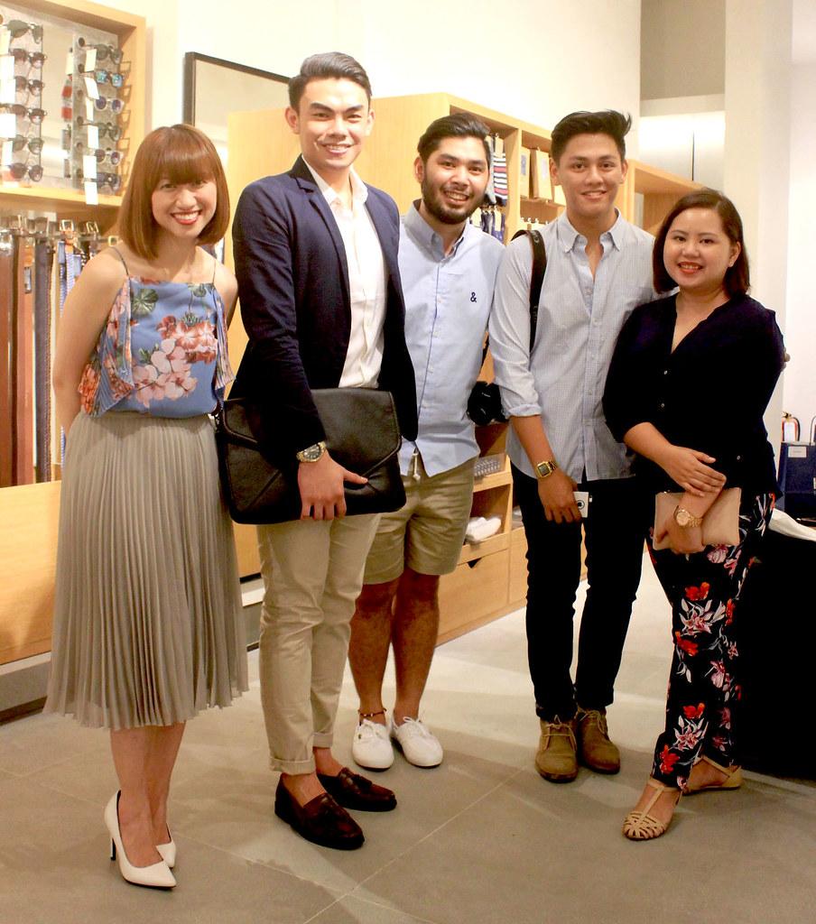 Kelly Santos, Janvie Tiu, Klyde Jarabelo, Jeffrey Mondia, and Cai Gualberto