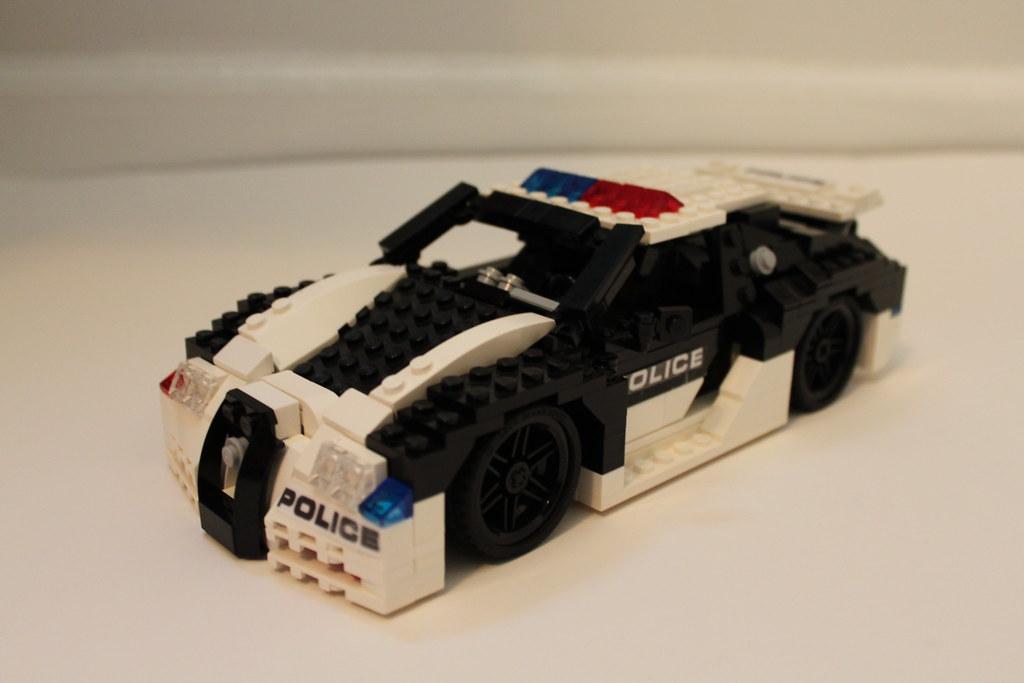 lego bugatti veyron super sport police interceptor flickr. Black Bedroom Furniture Sets. Home Design Ideas