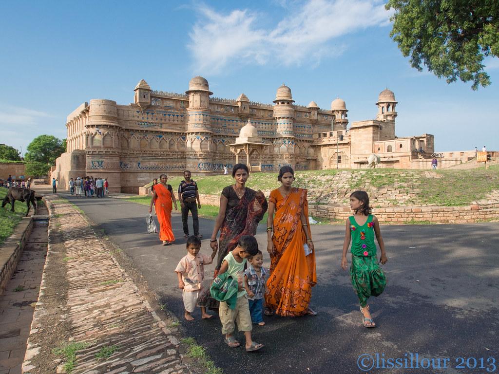 Gwalior India Photos Palace Gwalior India