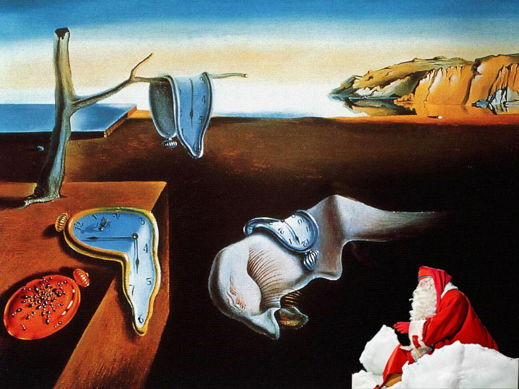 The Persistence of Memory, Salvador Dali 1931.
