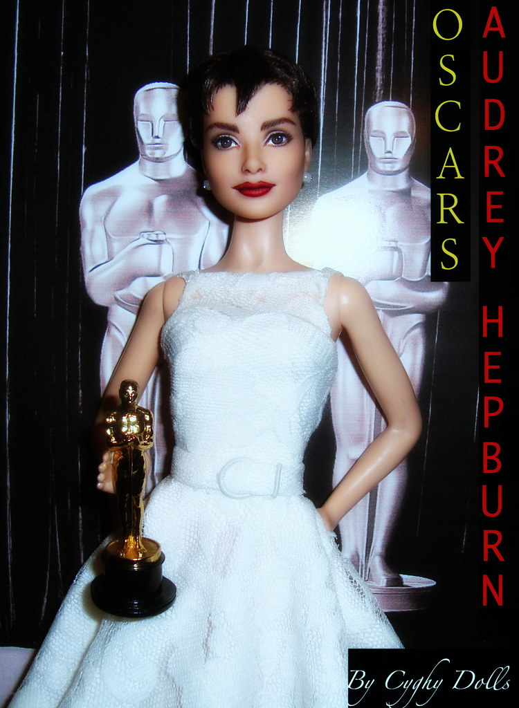 Audrey Hepburn Oscars doll By Cyguy dolls UP ON EBAY SOON!? Flickr