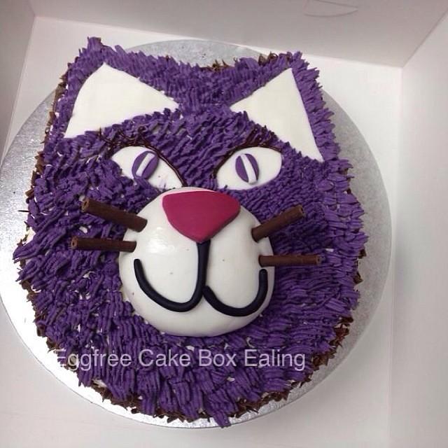Fresh Cream Cat Cake Cat Cake Cakebox Novelty Vegetar Flickr