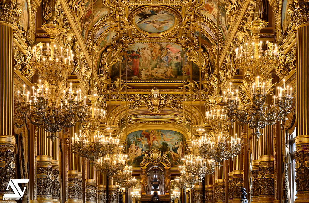 Le Grand Foyer Opera Garnier : Le grand foyer op�ra garnier paris