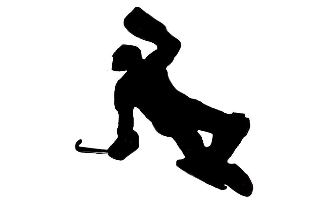 Field hockey silhouette