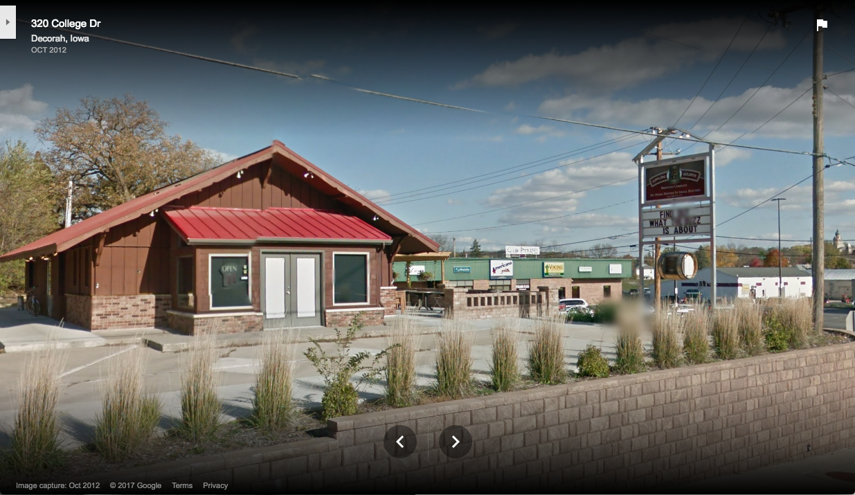 Toppling Goliath Google Street View