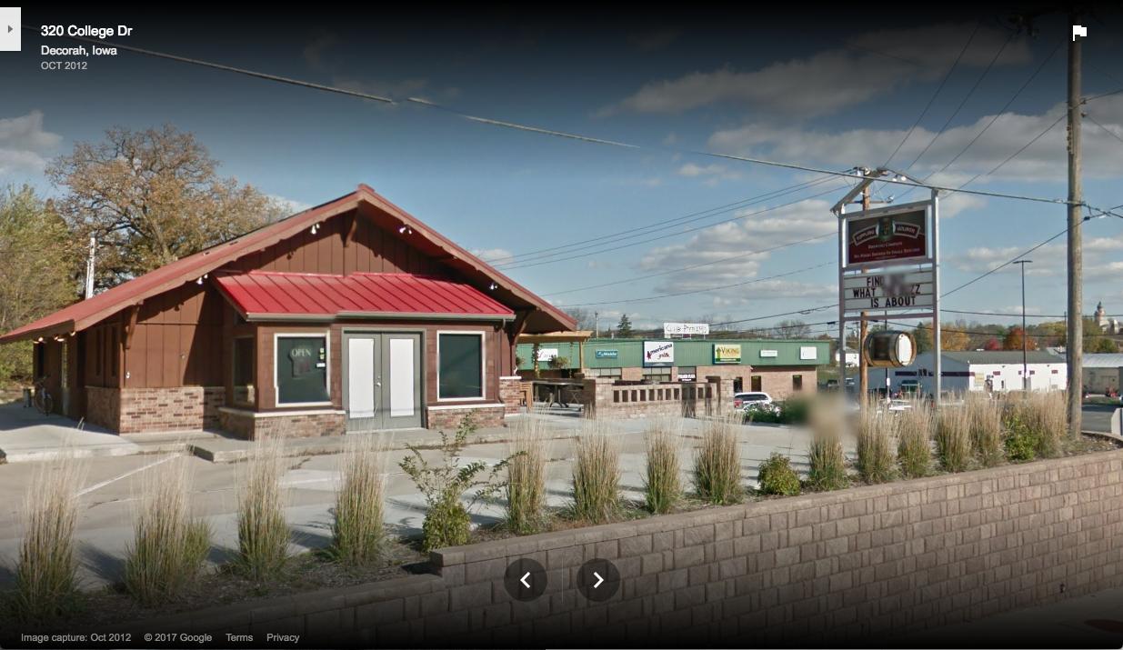 Toppling Goliath Google Street View