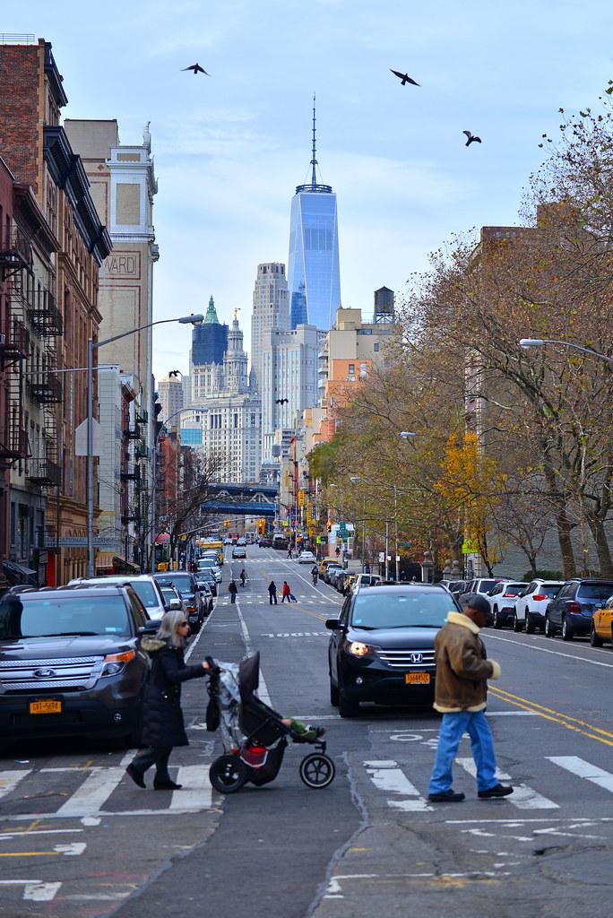 Calles de Nueva York y sus mejores restaurantes donde comer y cenar